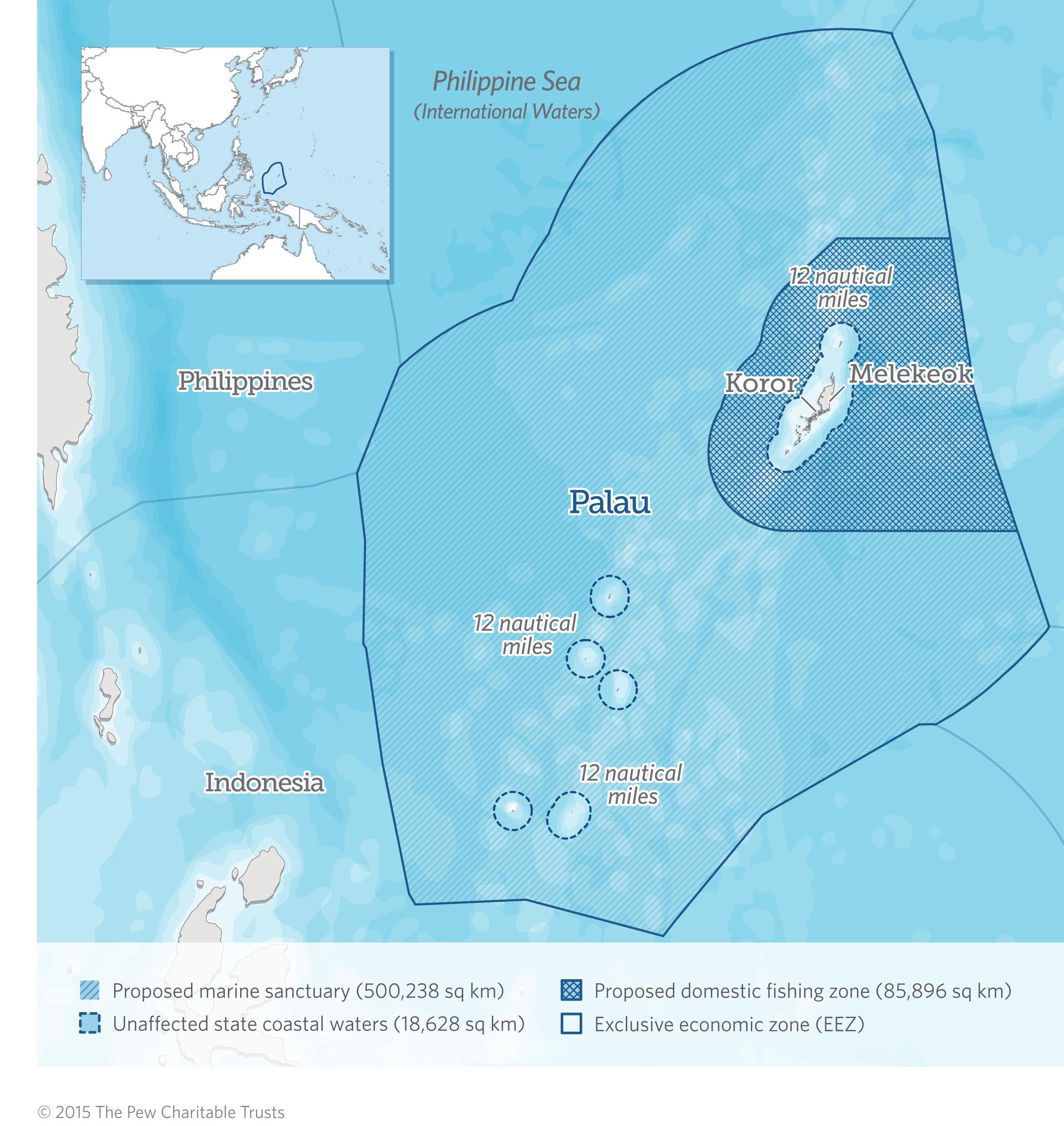 MPAtlas Palau - Palau map