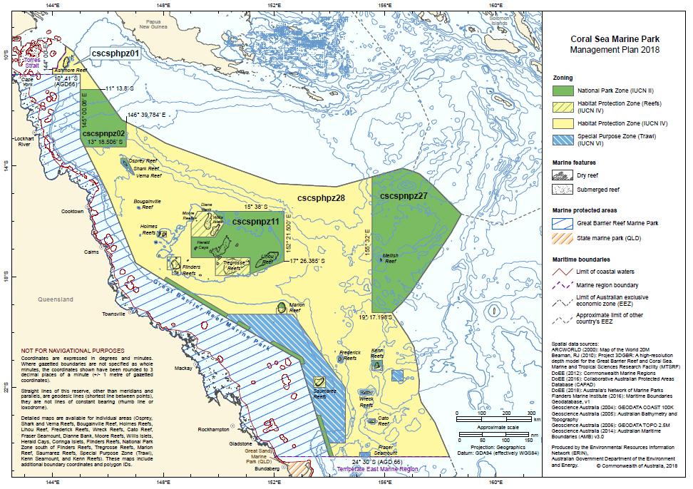 MPAtlas » Coral Sea - Special Purpose Zone (Trawl)