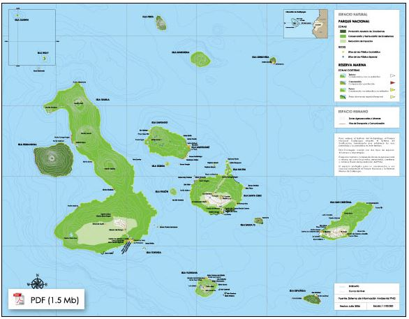 Galapagos On World Map.Mpatlas Galapagos