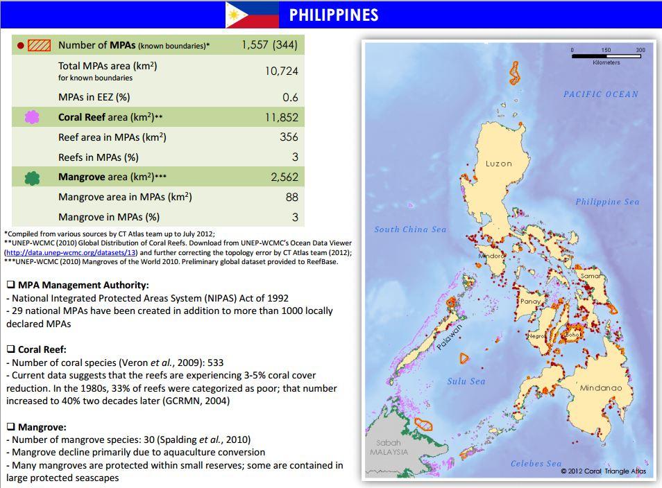MPAtlas » Philippines  MPAtlas » Phil...